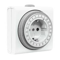 GAO 6er-Pack Mechanische Kompakte Zeitschaltuhren Intertek/GS-Zeichen