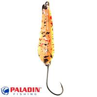 Paladin Trout Spoon XII 3,5g lachs-schwarz/silber mit MARUTO® Haken