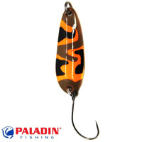 Paladin Trout Spoon VII 3,6g camou-orange-braun/camou-orange-braun mit MARUTO® Haken