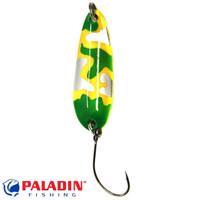 Paladin Trout Spoon VII 3,6g camou-gelb-grün/camou-gelb-grün mit MARUTO® Haken
