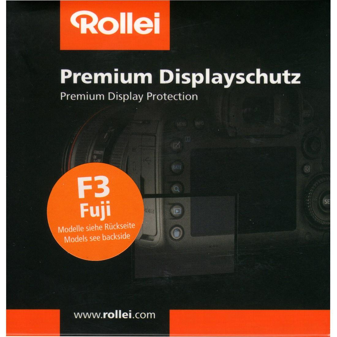 Rollei Premium Displayschutz F3 Fuji X-Pro2