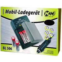H+H BL 506 Mobil-Ladegerät für AA/AAA Akkus