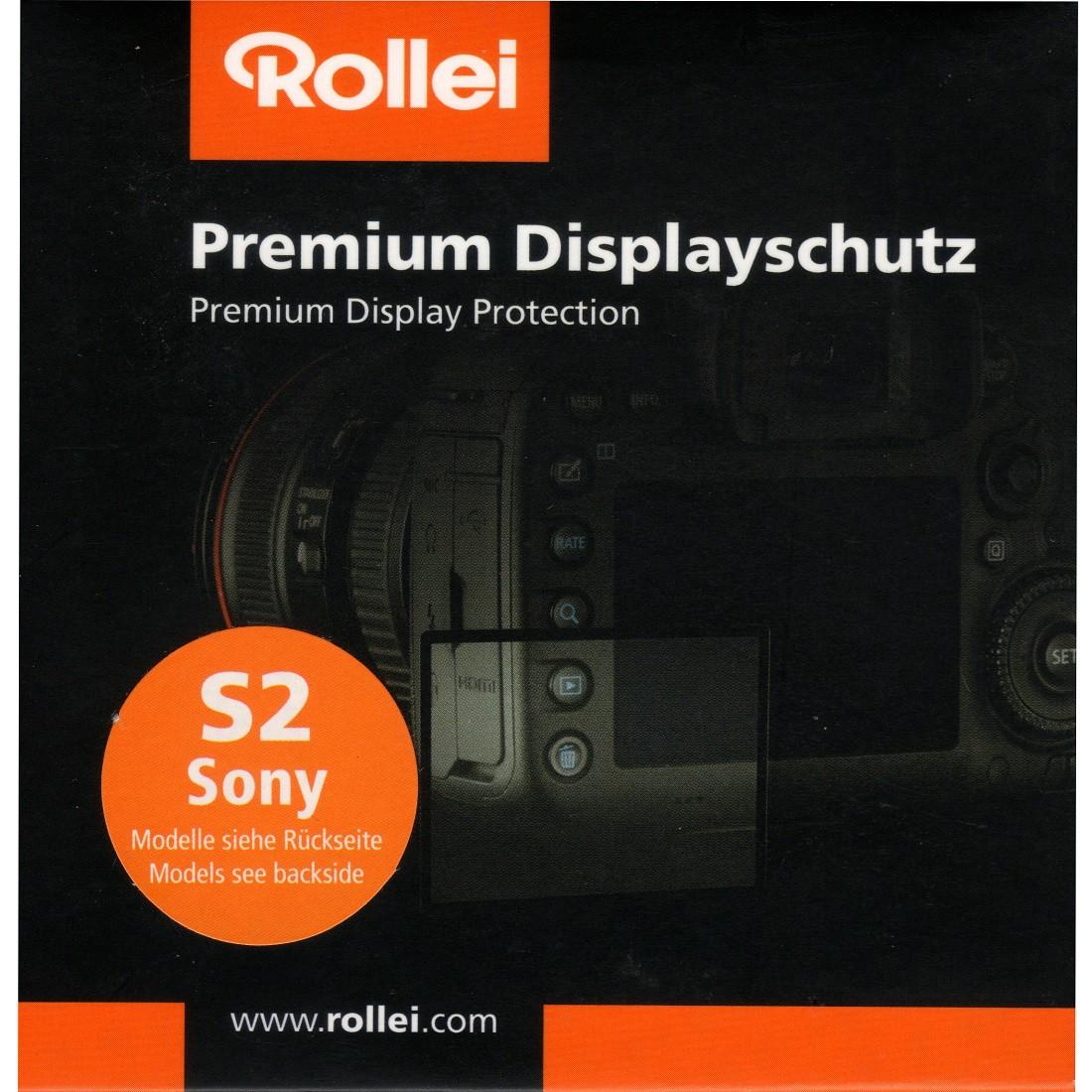 Rollei Premium Displayschutz S2 Sony NEX6, NEX7, A5000, A5100