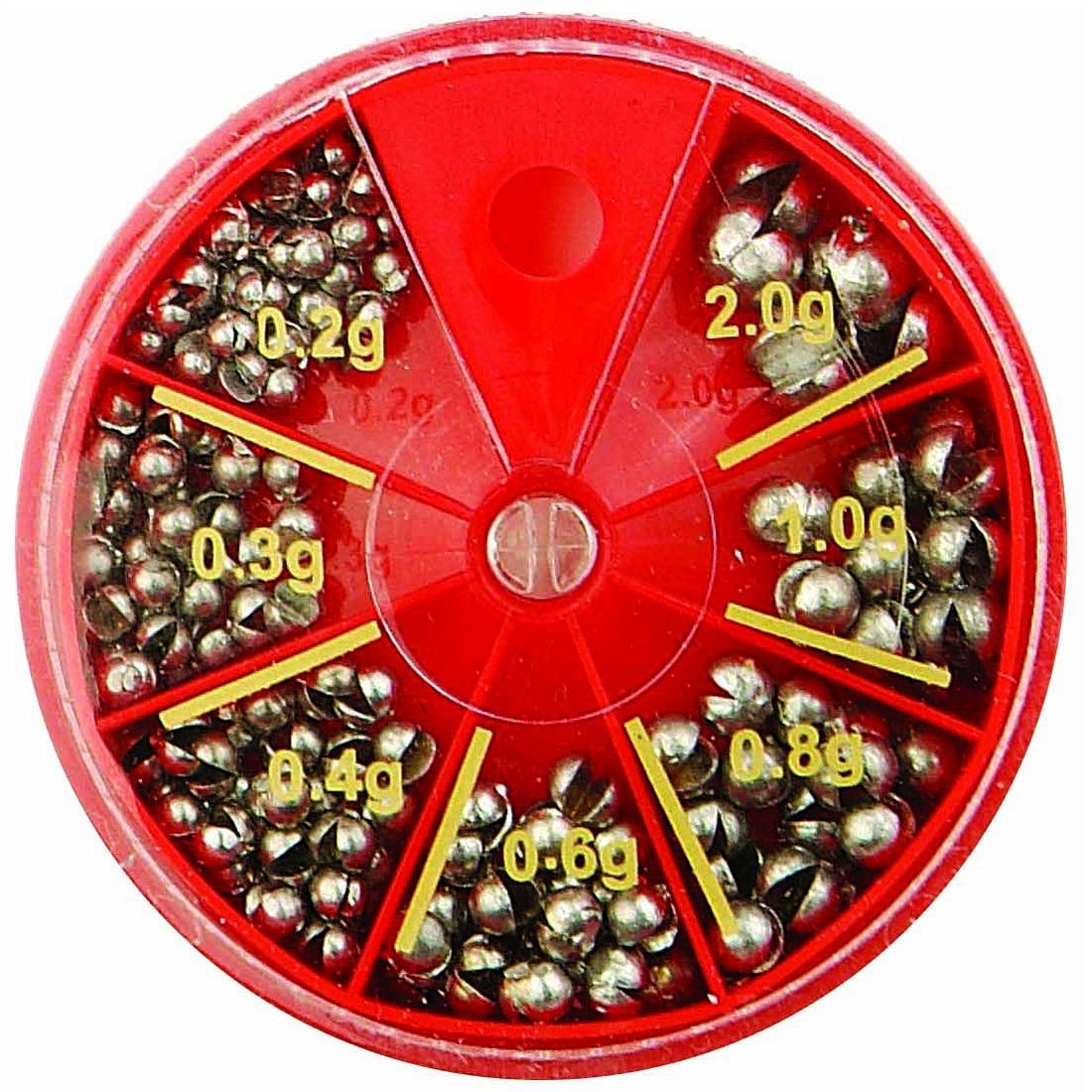 Paladin Schrotblei-Sortiment in Spenderdose 0,2 bis 2 g - 120g