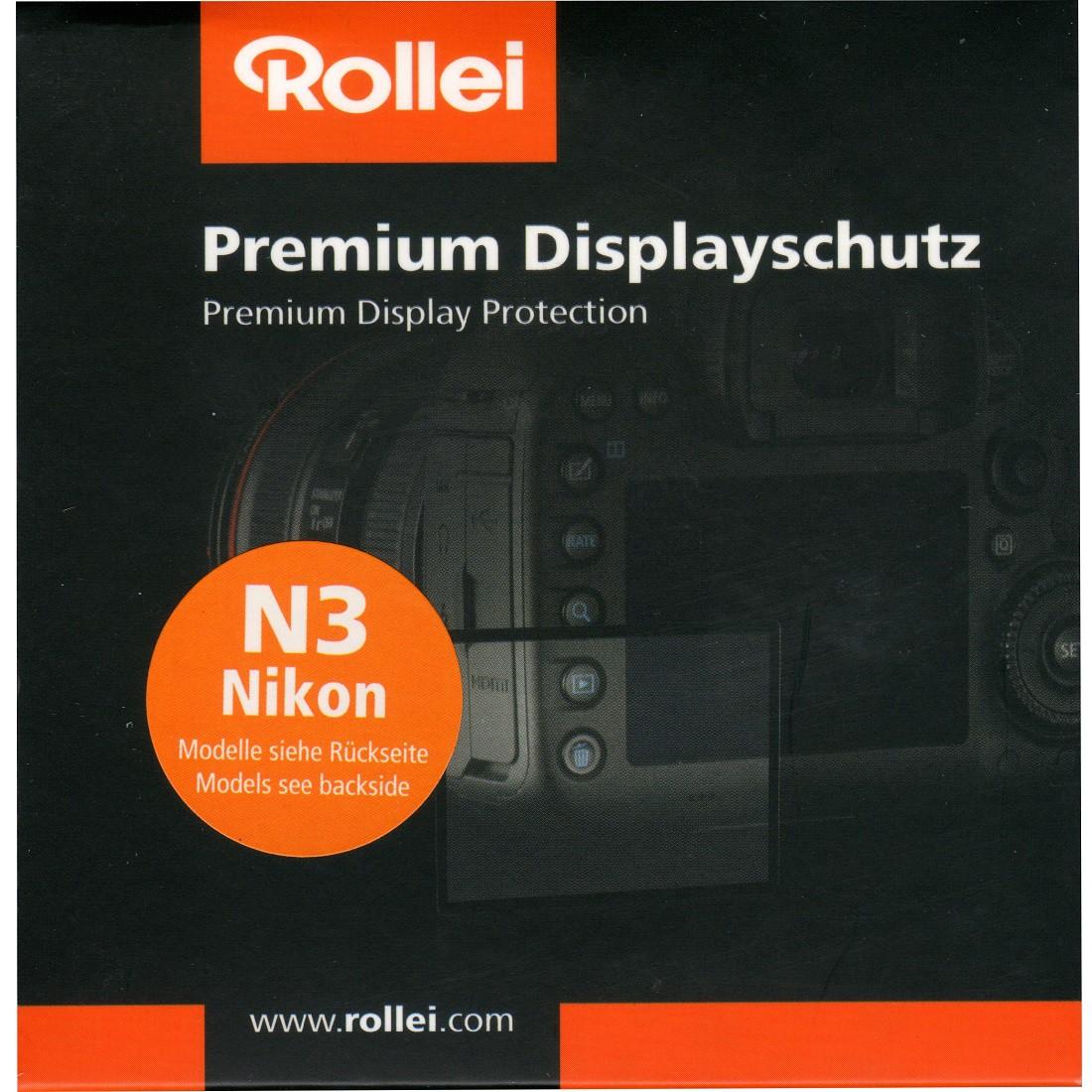 Rollei Premium Displayschutz N3 Nikon D3200, D3300