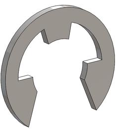Sicherungsring für Steckbolzen ab 2018