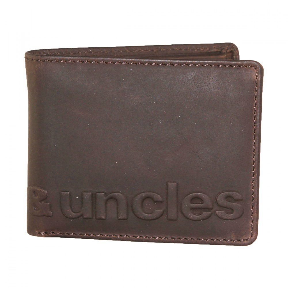 aunts & uncles - Matt - vintage brown mit Logoprint