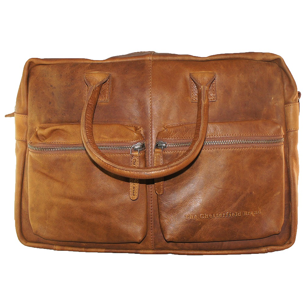 The Chesterfield Brand - Shoulderbag William - cognac