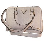 Guess - Handtasche Lyra Small - stone