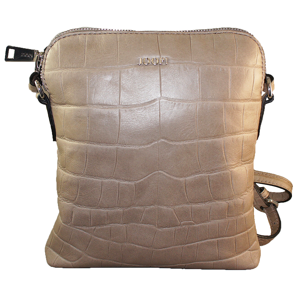 Joop - Croco Soft Daphne Shoulderbag SVZ - latte macchiato