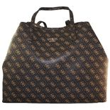 Guess - Vikky Large Tote - brown