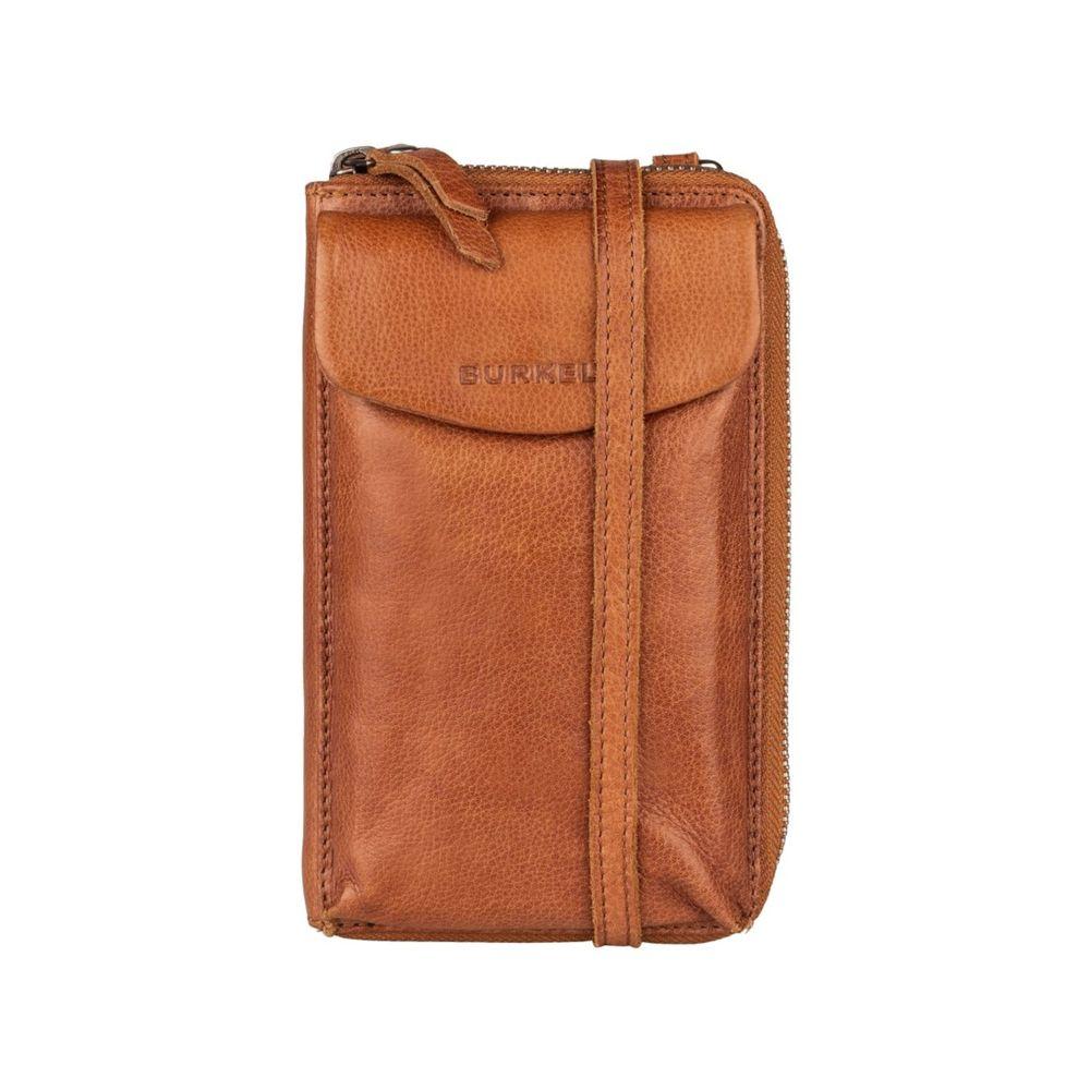 Burkely - Phone Wallet Just Jackie - cognac