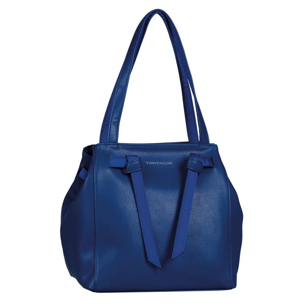 Tom Tailor - Miri Strap Shopper - blue