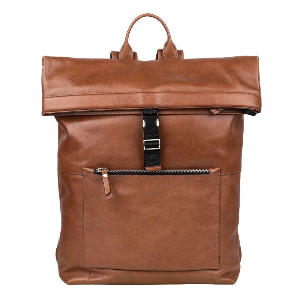 Burkely - Backpack Rolltop Suburb Seth - cognac