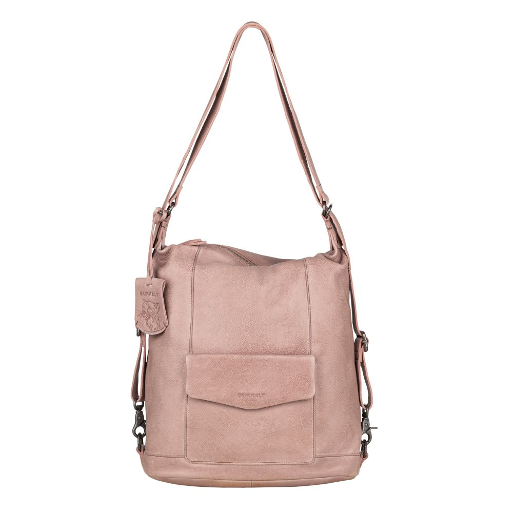 Burkely - Backpack Hobo Just Jackie - light pink