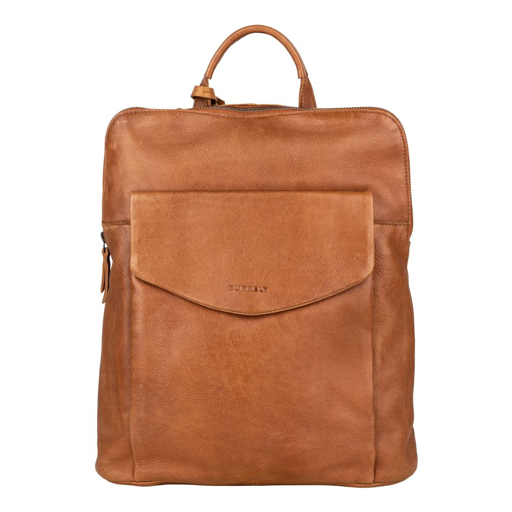 Burkely - Backpack Crossover Just Jackie - cognac