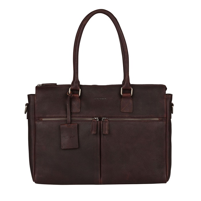 Burkely - Laptopbag Fundamentals Antique Avery - dark brown