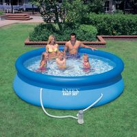 Intex Easy Pool Set 366 x 76 cm rund mit Pumpe (56422) 001