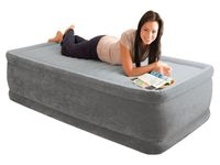 "Intex 64412 Luftbett Comfort Plush Elevated Airbed Kit ""Twin"" 99 x 191 x 46 cm"
