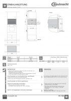 Bauknecht STC 7305 Kombi-Steamer SMS-Norm   Bild 2