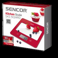 Sencor SKS 5024 Küchenwaage rot