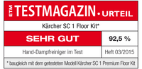 Kärcher SC 1 Dampfreiniger +Floor Kit 003