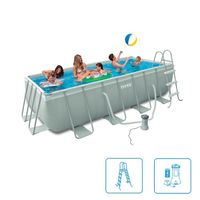 Intex Ultra Quadra Frame Pool 400 x 200 x 100 cm Bild 2