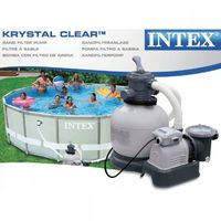 INTEX 1600 GALLONS SAND FILTER PUMP 001