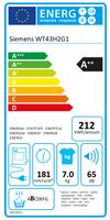SIEMENS iQ300 Wärmepumpentrockner WT43H2G1 002
