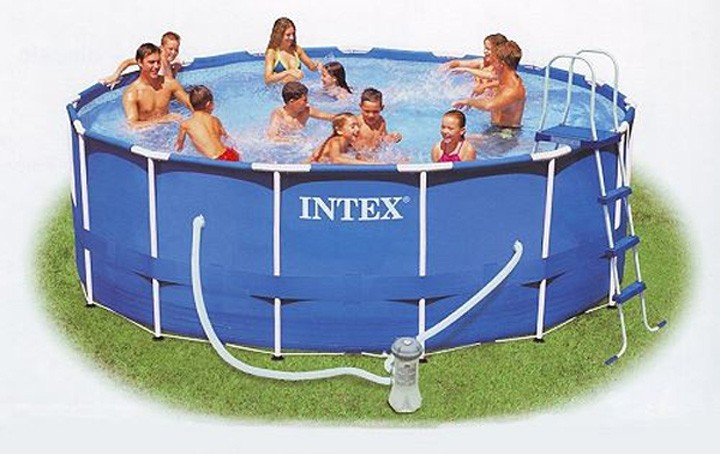 Super Intex Metal Frame Pool Set 457 x 122cm rund (54946) Pools Pool Set IY24