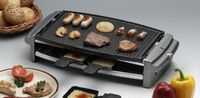 rotel Raclette Party-Grill mit Alu-Platte, 8 Portionen 001