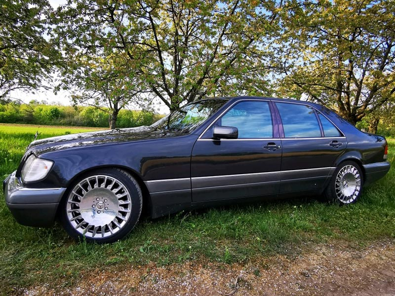 Mercedes W140 Maybach Felgen