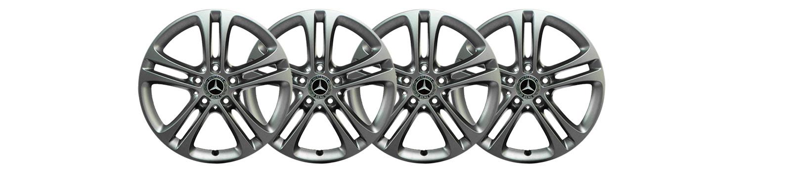Mercedes CLA X118 C118 Felgen & Kompletträder mit Sommerreifen / Winterreifen   A1774010400