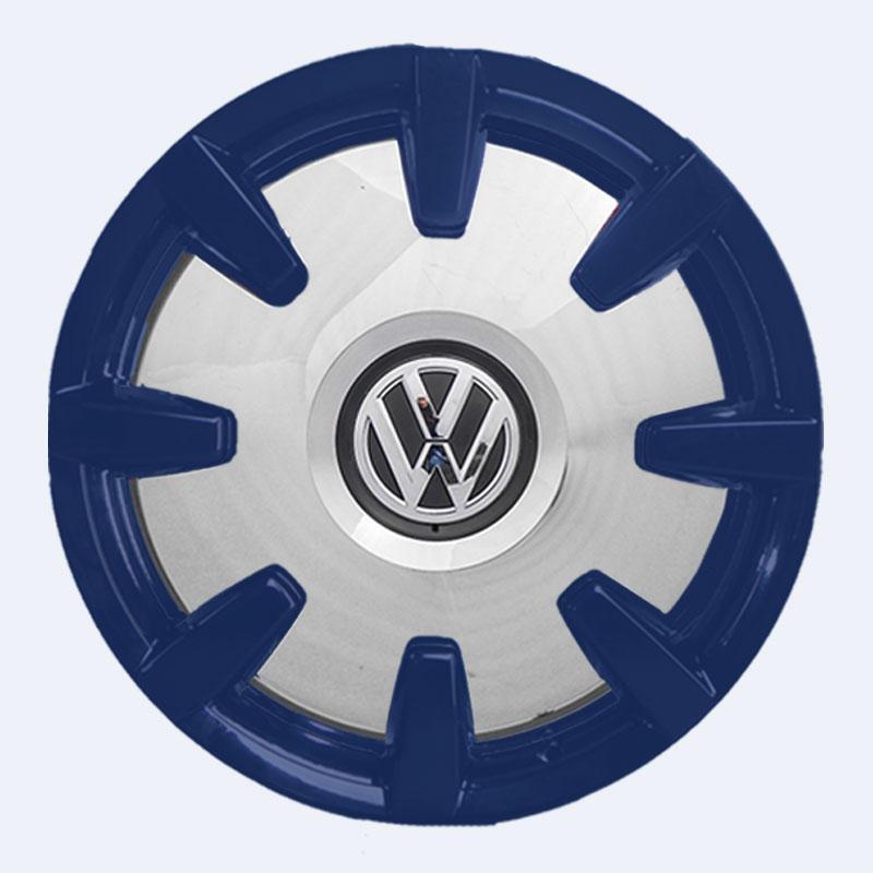 VW Bus Disc Felgen blau