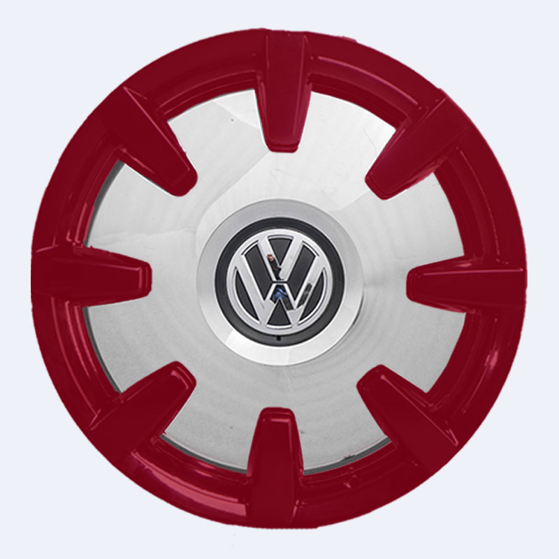 VW Bus Disc Felgen rot