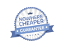 Nowhere cheaper guarantee