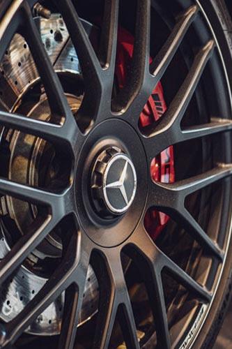 Original Mercedes AMG Wheels