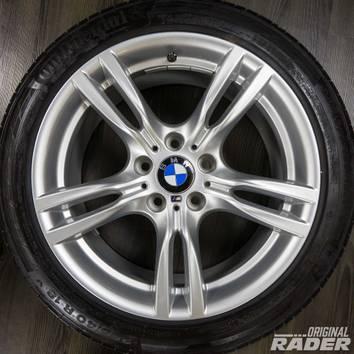 BMW 18 Zoll 3er F30 F31 4er F32 F33 Felgen Alufelgen M400 M 400 Sommerreifen – Bild 4