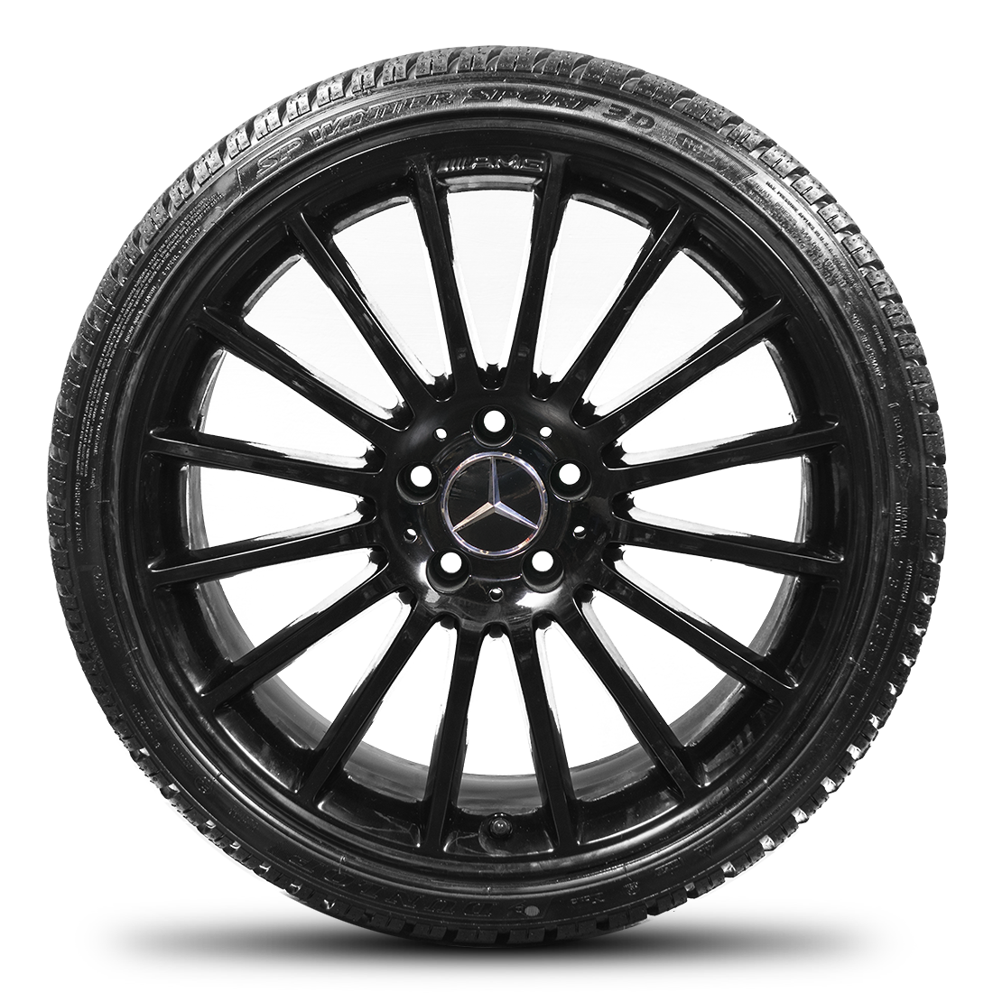 Mercedes benz c class w204 c63 amg 19 winter tyres winter for Mercedes benz tyres