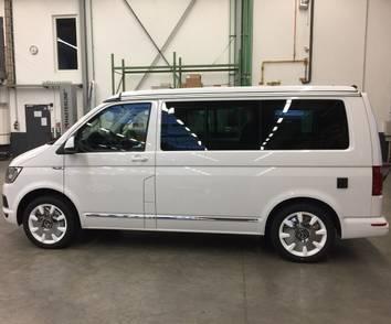 VW 18 Zoll Winterräder T5 T6 Bus Multivan Winterreifen Disc Felgen weiß NEU – Bild 5