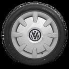 VW 18 Zoll Winterräder T5 T6 Bus Multivan Winterreifen Disc Felgen silber NEU