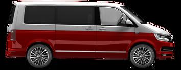 VW 18 Zoll Sommerreifen T5 T6 Bus Multivan Bulli Palmerston Alufelgen Felgen NEU – Bild 6
