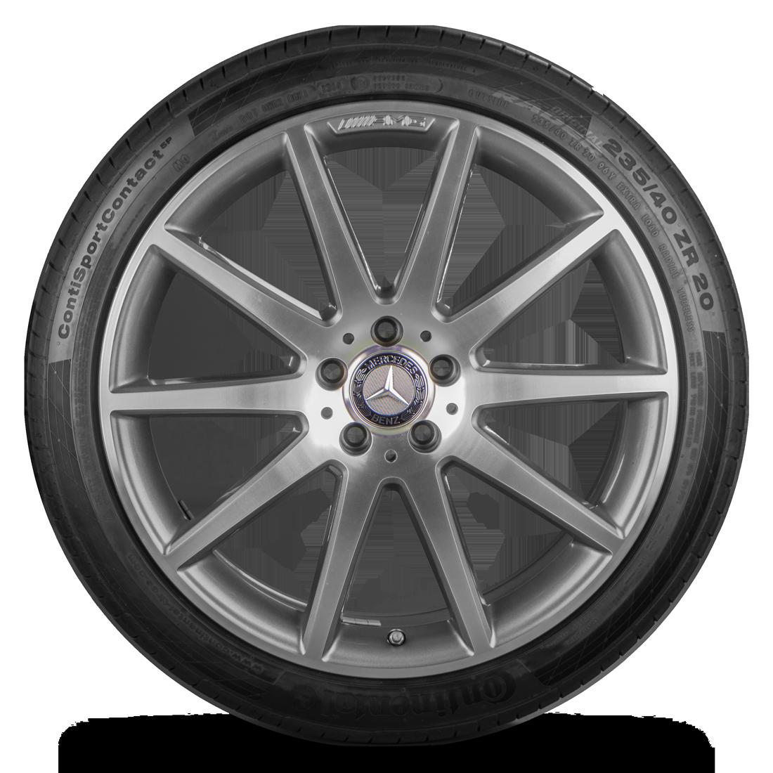 AMG 20 Zoll Felgen Mercedes GLA 45 X156 Alufelgen Sommerreifen Sommerräder 7 mm