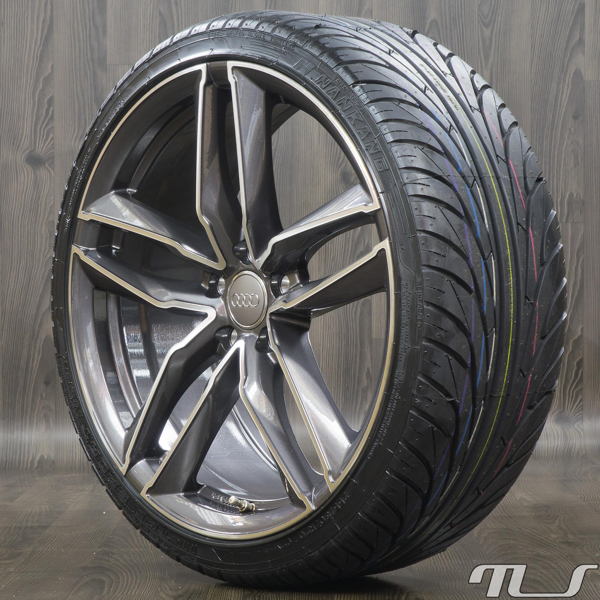 20 inch alloy wheels for audi a3 a4 a5 a6 a7 q3 q5 tt. Black Bedroom Furniture Sets. Home Design Ideas