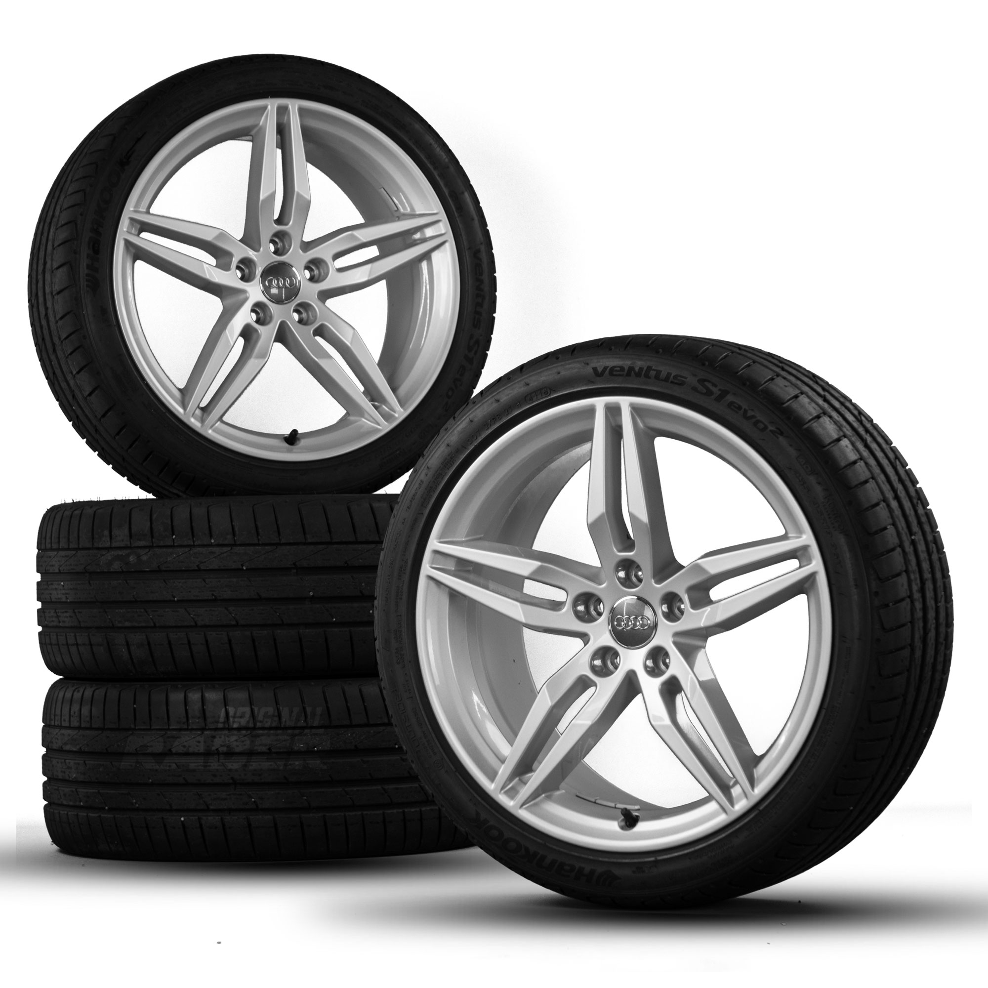 original audi 19 pouces jantes a5 s5 b9 pneus jantes en. Black Bedroom Furniture Sets. Home Design Ideas