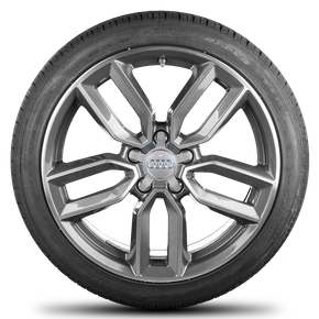 Audi 18 inch rims A3 S3 8V alloy wheels summer tires summer wheels S line 7,5