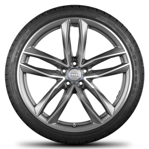 Audi 21 inch rims RS6 4G alloy wheels summer tires summer wheels S line 6 mm