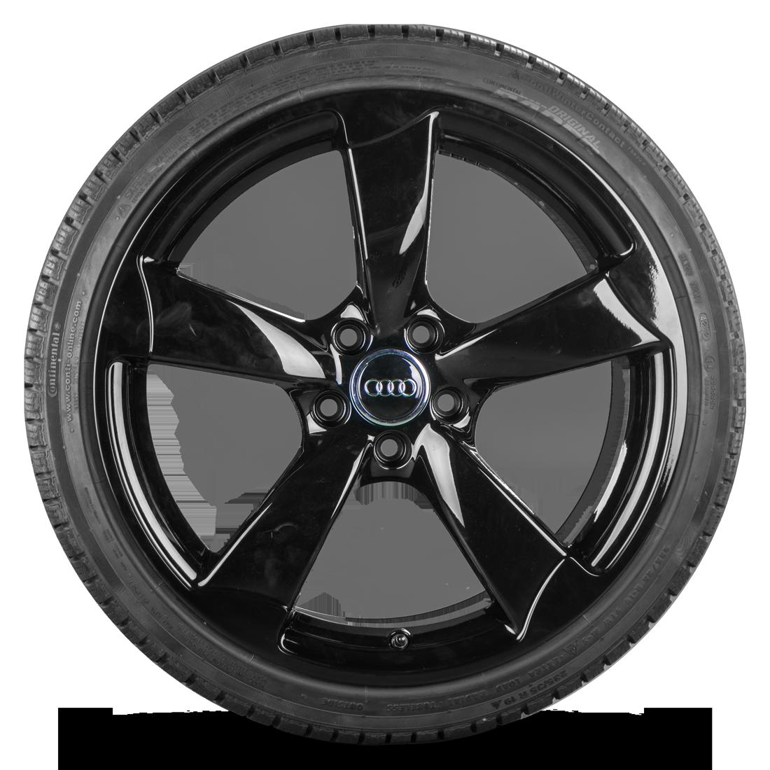 Audi 19 Zoll Rotor Winterräder Felgen R8 V8 V10 Winterreifen schwarz Neuwertig