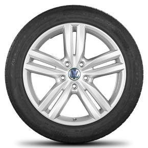 VW 20 inch rims Touareg 7P Pikes Peak alloy wheels summer tires summer wheels