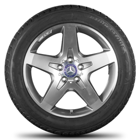 AMG 18 inch rims Mercedes Benz GLA X156 alloy wheels winter tyres winter